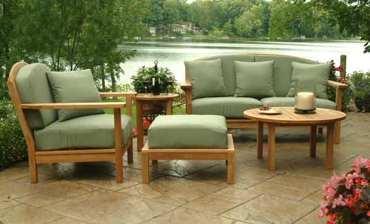Teak Garden furniture -- It may be Utilized Inside As well