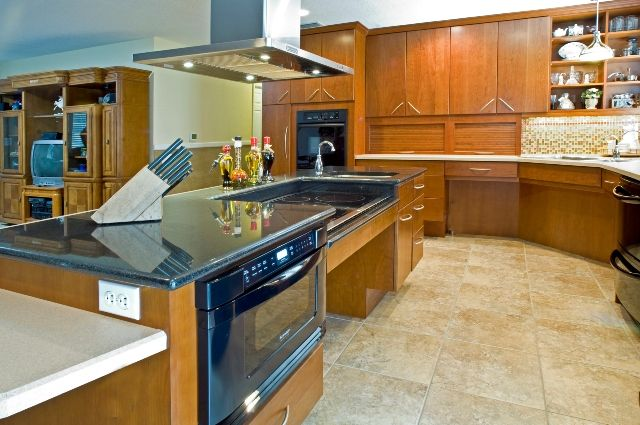 Creating the Kitchen area Along with Wheelchair Entry in your mind