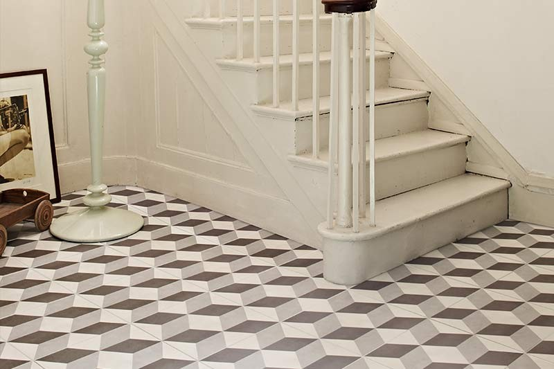 Making Optical Illusions In your house Along with Tile