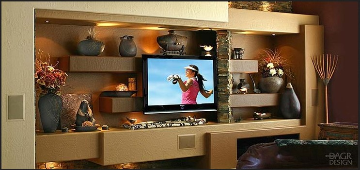 How to Easily Remodel Room with Custom Entertainment Centers Phoenix