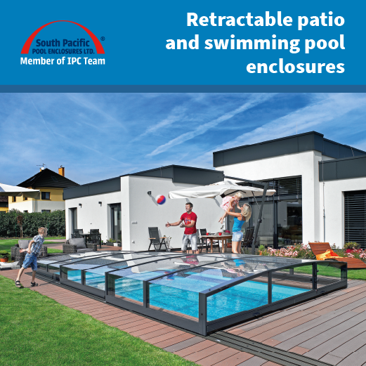 Swimming pool and patio enclosures from South Pacific Pool Enclosures Ltd.