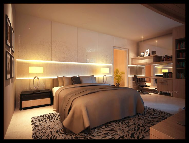 western-bed-room-illumination-suggestions
