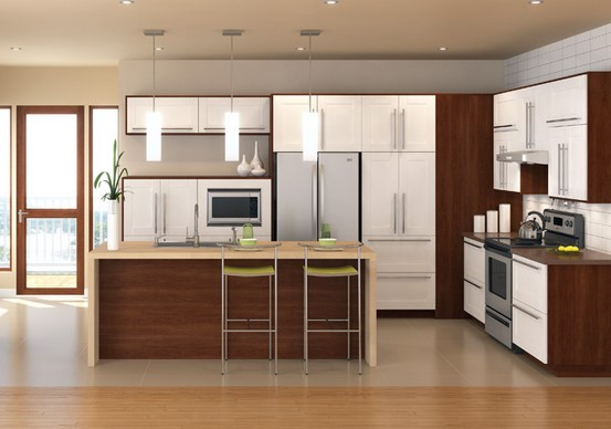 Do it yourself action quantity four how you can refinish for Laying out kitchen cabinets