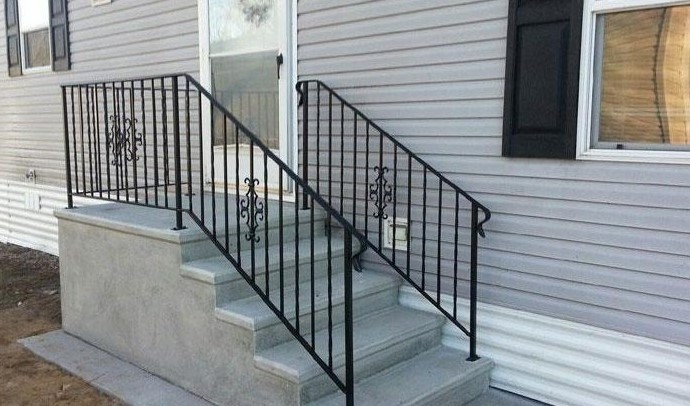 Be careful tend to be your own inside step railings set for Steps to building your own house