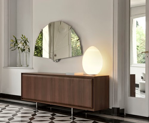 Walls Decorative mirrors Which Convey That You're