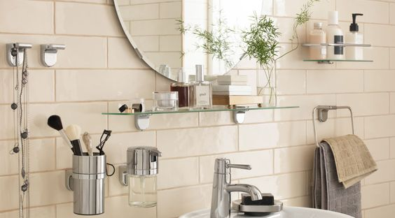 Hand towel Shelves Provide Limitless Options