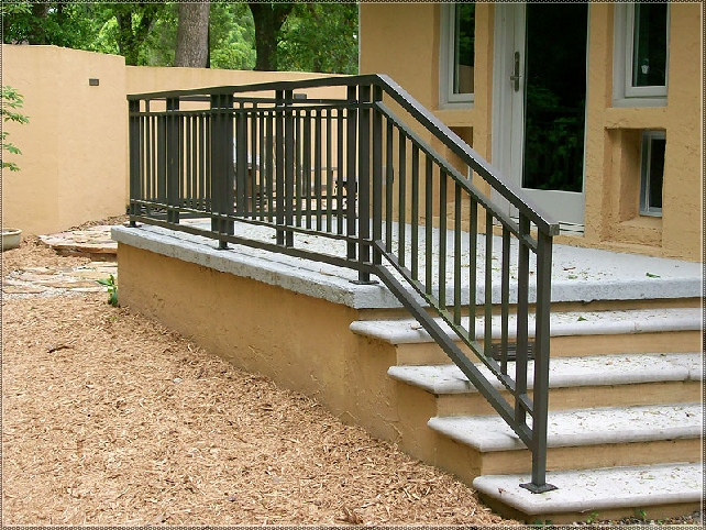 Wrought Metal Railings as well as Outdoor patio Railings