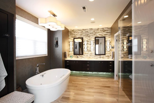 Deciding on the best Dimension as well as Design associated with Mixture Restroom Furnishings